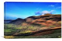 Skiddaw from Latrigg, Canvas Print