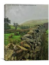 The Mists of High Cup Nick, Canvas Print