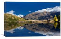 Glendhu Bay, Lake Wanaka, New Zealand with Mt Aspi, Canvas Print
