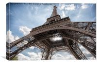Eiffel Tower, Paris, Canvas Print