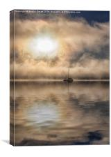 Sunrise at Paihia Bay, New Zealand, Canvas Print