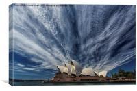Sydney icon, Canvas Print
