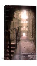 Bodmin Gaol, Missing Floors, Canvas Print