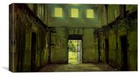 Bodmin Gaol, The Way Out, Canvas Print