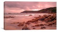 Rocky Beach at Kynance Cove, Canvas Print