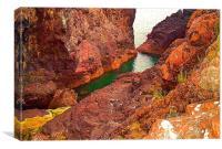 Kynance Cove, Cliff Top, Canvas Print