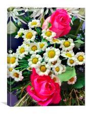 Floral Decoration, Canvas Print