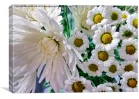 Flowering Together, Canvas Print