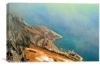 Gibraltar, Canvas Print