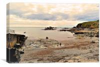 Polpeor Cove, Cornwall, Canvas Print