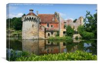 Scotney Castle, Kent, Canvas Print