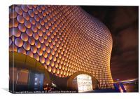 Selfridges at night, Birmingham