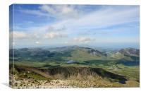 Snowdonia View, Canvas Print