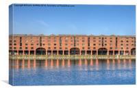 Royal Albert Docks, Liverpool, Canvas Print