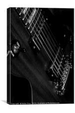 Gibson Les Paul, Canvas Print