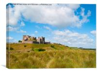 Bamburgh Castle Northumberland, Canvas Print