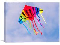 Kite Flying, Canvas Print