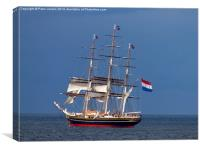 Dutch Tall Clipper Ship, Canvas Print