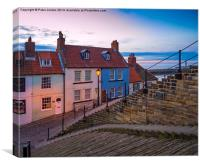Whitby Evening 2, Canvas Print