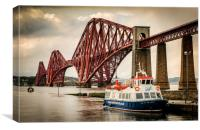 Maid of the Forth, Canvas Print