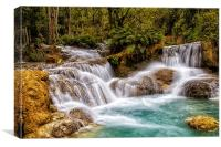 Laotian Waterfall, Canvas Print