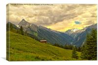 Alpine Valley, Canvas Print