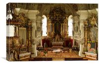 Peasant Cathedral In Soll - Austria, Canvas Print