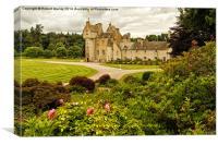 Highland Castle, Canvas Print