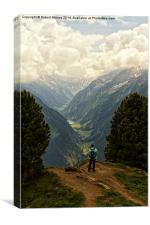Alpine Viewpoint, Canvas Print
