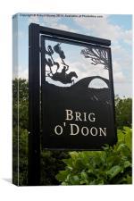 Brig o' Doon, Canvas Print