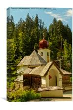 Austrian Chapel , Canvas Print