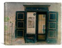 The Doorway to Memories, Canvas Print