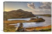 Hebridean Morning, Canvas Print