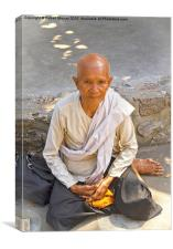 Cambodian Monk, Canvas Print