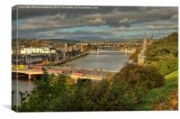Inverness - Capital of the Highlands, Canvas Print