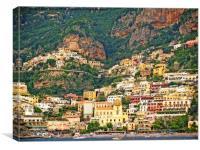 Positano, Canvas Print