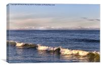 Sunlit Sea, Canvas Print