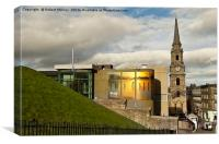 Inverness Art Gallery and Tolbooth Steeple., Canvas Print