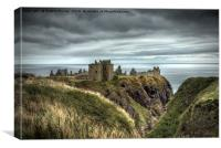 Dunnottar Castle, Canvas Print