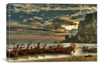 Ton Sai Evening, Canvas Print