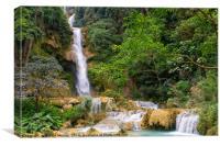 Laos Waterfall, Canvas Print