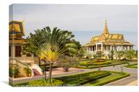 Royal Palace Phnom Penh, Cambodia., Canvas Print