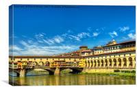 Ponte Vecchio, Florence., Canvas Print