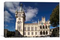 The Town Hall, Camara Municipal, Sintra, Portugal., Canvas Print