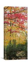 Traffic Light Trees, Canvas Print