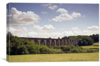 Viaduct at Ty Mawr, North Wales, Canvas Print