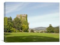 Bodelwyddan Castle, North Wales, Canvas Print