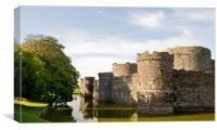 Beaumaris Castle, Anglesey, Canvas Print