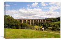 Ty Mawr Railway Viaduct, Canvas Print