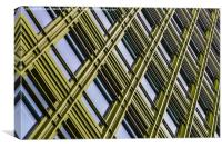 Green office space in London, Canvas Print